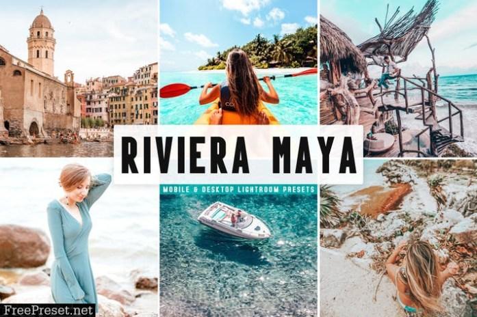 Riviera Maya Mobile & Desktop Lightroom Presets