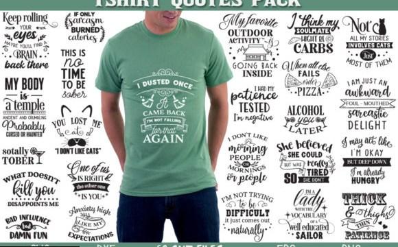 T-shirt Quotes Bundle 2848125