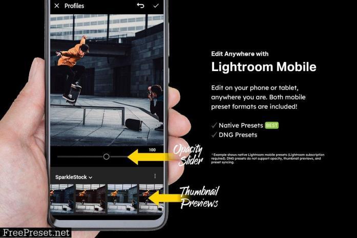 20 Black Lightroom Presets and LUTs 4857258