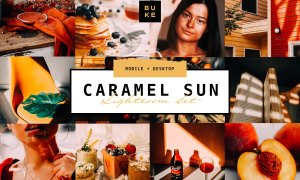 3 Caramel Sun Lightroom Presets Pack 4736325
