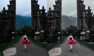 6 Photoshop Action Presets Bali ACR Luts 3714488