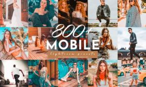 800+ Lightroom Mobile Presets Pack 3968943