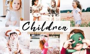 Children Mobile & Desktop Lightroom Presets