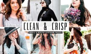 Clean & Crisp Lightroom Presets Pack 4742085