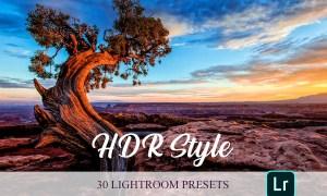 Lightroom Presets - HDR Style 4820158