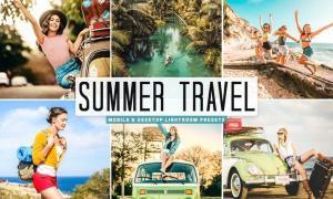 Summer Travel Mobile & Desktop Lightroom Presets