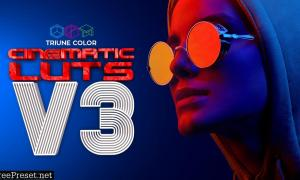 Triune Digital Cinematic LUTs V3