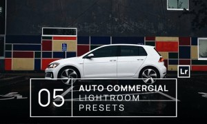 5 Auto Commercial Photography Lightroom Presets