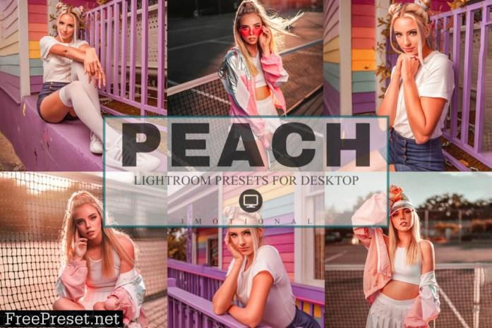 6 Peach Lightroom Presets 4208798