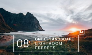 8 Great Landscape Lightroom Presets + Mobile