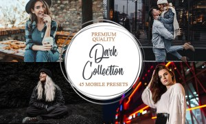 Dark Collection Mobile Presets 4906780