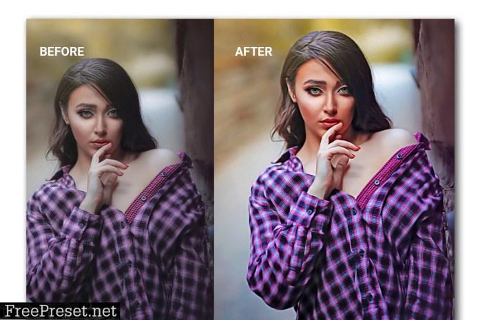 Dodge & Burn Photoshop Action 4818064