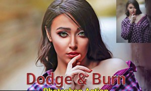 Dodge & Burn Photoshop Action 4818064