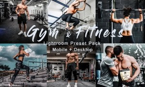 Gym & Fitness | Lightroom Presets 4815614