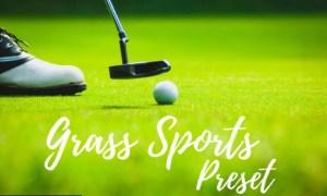 Lightroom Presets - Grass Sports
