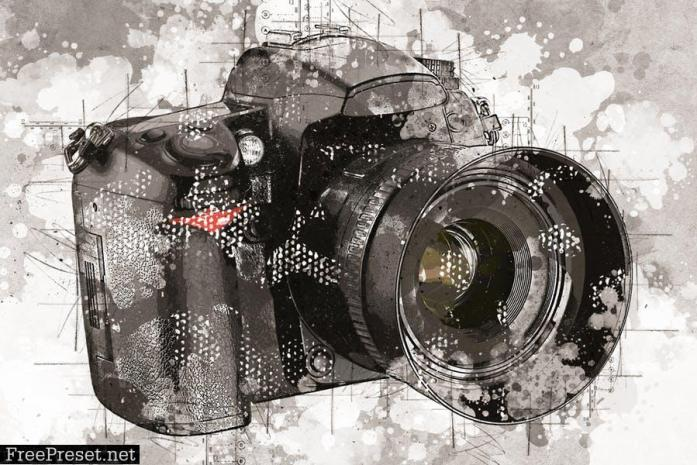 Mix Art 3 Photoshop Action SUGFMU