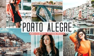 Porto Alegre Mobile & Desktop Lightroom Presets