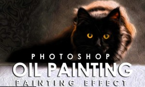 Vibrant Oil Painting Photoshop Action 3802214