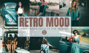 11 Retro Mood Mobile Lightroom Presets 4452156