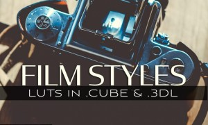 3d LUTs - Film Styles 5027768