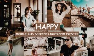 Cinematic Happy Lightroom Presets 4276562
