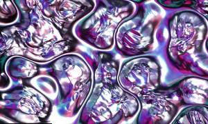 Metallic Liquid Background Set TB7X4DJ