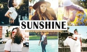 Sunshine Mobile & Desktop Lightroom Presets