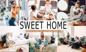 Sweet Home Lightroom Presets Pack 4319351