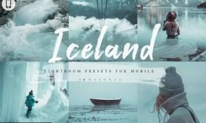 10 Iceland Mobile Lightroom Presets 4593053