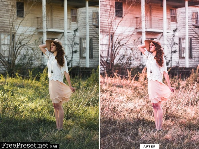 10 Perfect Pink Mobile Presets 5143107