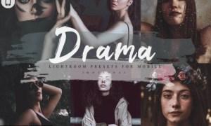 14 Drama Mobile Lightroom Presets