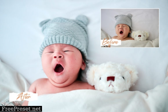 6 Newborn Mood Mobile Lightroom Presets