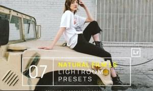7 Natural Film Lifestyle Lightroom Presets +Mobile