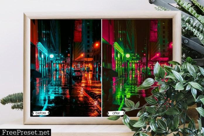 Cyberpunk Lightroom Presets 5199220