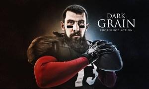Dark Grain Photoshop Action FRGPPCJ