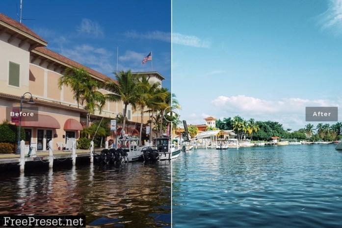 Florida Mobile & Desktop Lightroom Presets