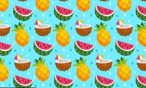 Fruit Pattern 2PCKML5