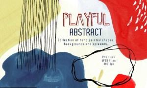 Playful Abstract Design Toolkit K5XTU7G