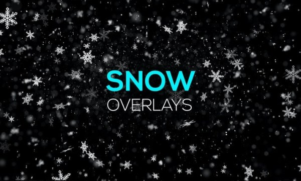 Snow and Snowflakes Overlays 9V3GJLC