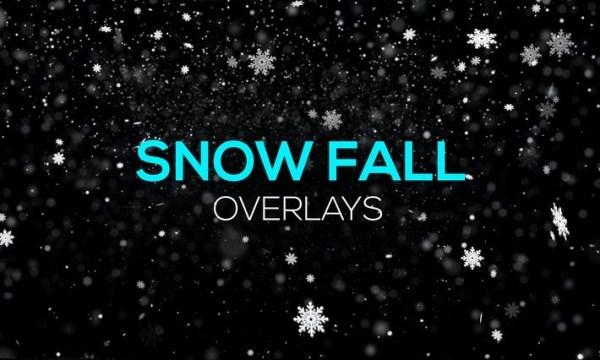 Snow Fall Overlays U2Y2YEV