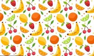 Summer Fruit Pattern RUQYK8Q