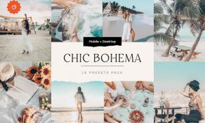 Bohemian Lightroom Presets Pack 5210776