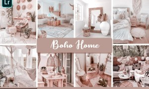 Boho Home Mobile & Desktop Presets interior lightroom presets