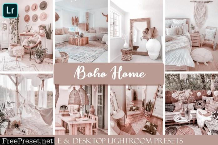 Boho Home Mobile & Desktop Presets interior lightroom presets
