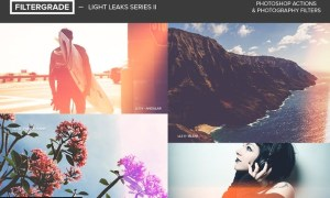 FilterGrade Light Leaks Photoshop Actions S2 MJ6U7E