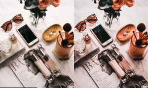 Flat Lay Lightroom Presets for Product Photography