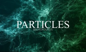 Glitter Particles Background YRBDLJA