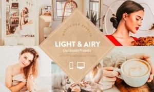 Light and Airy Warm Lightroom Preset 4741969