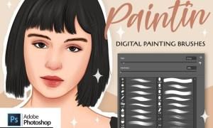 Paintin Brushes for Adobe Photoshop GY3PDNU