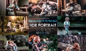 Portrait HDR Presets For Mobile and Desktop Lightr
